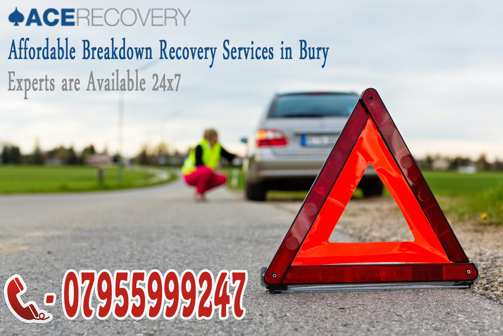 Rescue a Vehicle with Breakdown Recovery Services in Bury