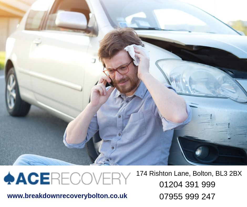 Vehicle Recovery Services in Bolton
