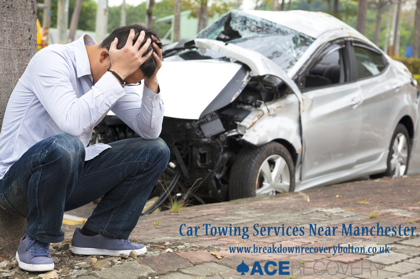 Car Accident Towing Services Near Manchester
